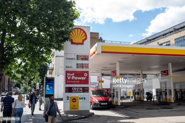 Shell petrol station in London London is the Capital city of England and the United Kingdom it is located in the south east of the country in 2017 it...