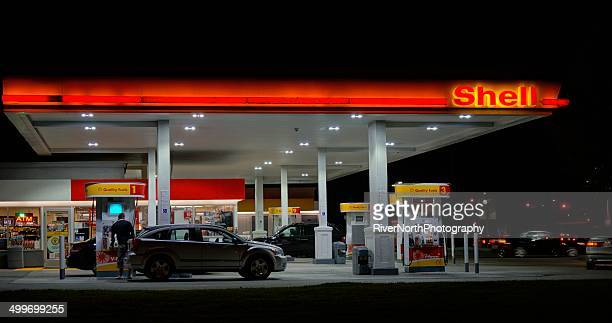 shell - shell brand name stock pictures, royalty-free photos & images