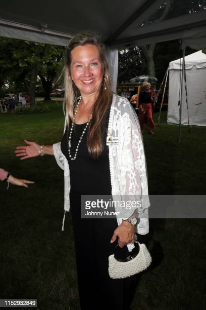 Shelley Berkoski attends the 13th Annual Wildlife Rescue Center's Get Wild Benefit at Little Orchard on June 29 2019 in Southampton New York