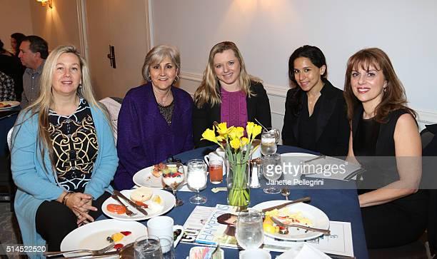 Shelley Berkoski Rosane Cassella Aleksandra Kardwell Dawn Clampett and Diana DollingRoss attend Hamptons Magazine 8th Annual Local Business Seminar...