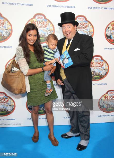 Shelley Conn attends VIP Screening of Thomas & Friends: King Of The Railway at Vue Leicester Square on August 18, 2013 in London, England.