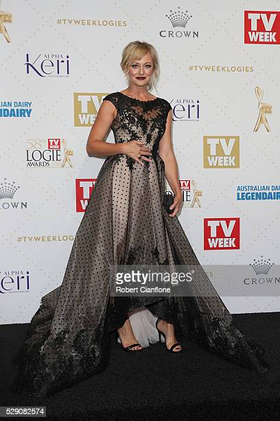 Shelley Craft arrives at the 58th Annual Logie Awards at Crown Palladium on May 8 2016 in Melbourne Australia