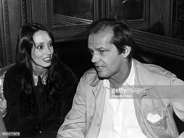 Shelley Duvall and Jack Nicholson circa 1980 in New York City.