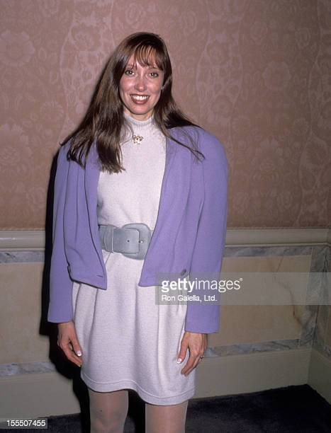 Shelley Duvall attends the Museum of Broadcasting's Sixth Annual Television Festival on February 28, 1989 at Four Seasons Hotel in Beverly Hills,...