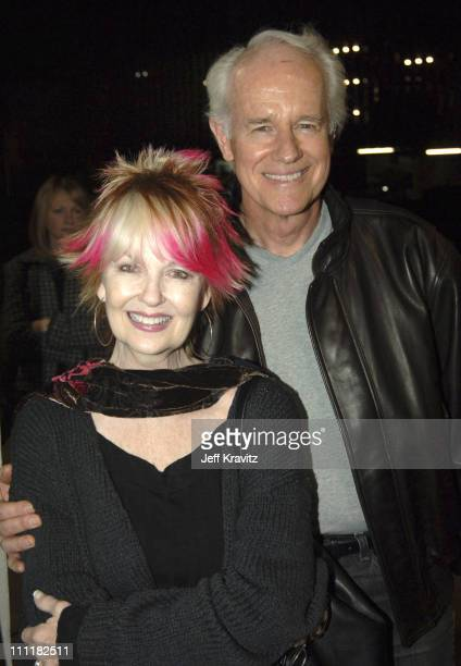 Shelley Fabares and Mike Farrell during HBO Films' Sometimes In April Los Angeles Premiere at Writer's Guild Theater in Beverly Hills California...