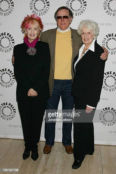 Shelley Fabares Jimmy Hawkins and Ann McCrea arrive for The Paley Center For Media Presents 'The Donna Reed Show Reunion' A Salute To The Classic...
