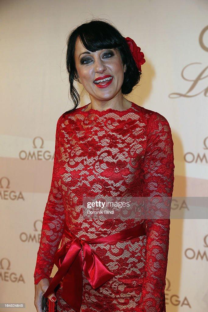 Shelley Harland attends the Omega Gala 'La Nuit Enchantee' at Gartenpalais Liechtenstein on March 23, 2013 in Vienna, Austria.