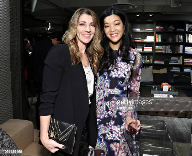 Shelley Haus and AllureÕs Michelle Lee attend as Allure and Ulta Beauty host See Yourself See Each Other panel discussion at Neuehouse on January 29...