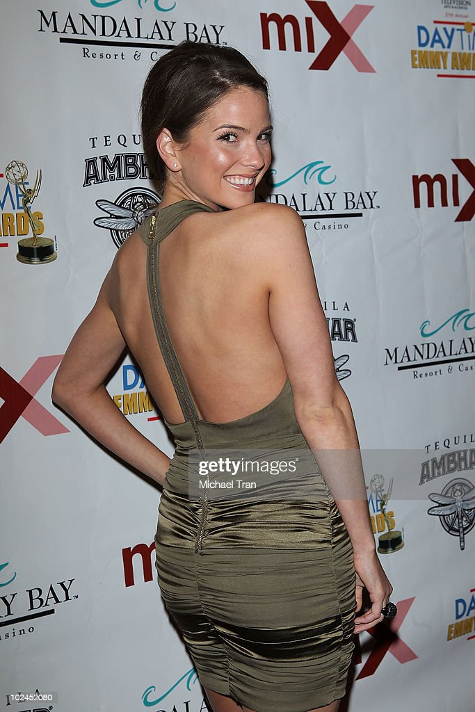 Shelley Hennig arrives to the 2010 Daytime Emmy Awards Official Pre-Party held at miX Lounge - THEhotel at Mandalay Bay on June 26, 2010 in Las Vegas, Nevada.