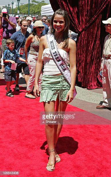 Shelley Hennig Miss Teen USA 2004 during 'The Princess Diaries 2 Royal Engagement' World Premiere Arrivals at AMC Downtown Disney in Anaheim...
