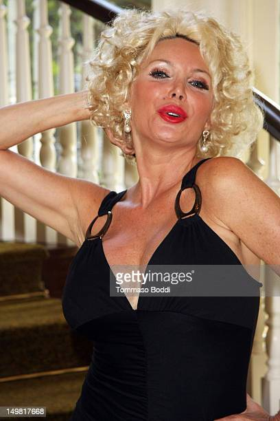 Shelley Michelle attends the Hooray for HollyWOOF fundraiser benefiting Dogs for The Deaf and Generation Rescue held at the Sportsmen's Lodge on...