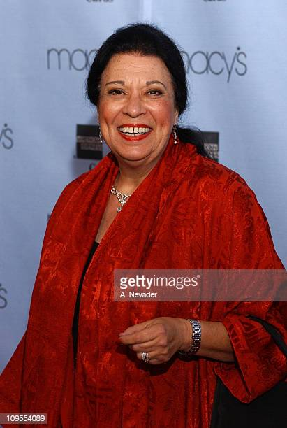 Shelley Morrison during Macy's and American Express Passport 2002 20th Anniversary Gala Arrivals at Barker Hangar in Santa Monica California United...