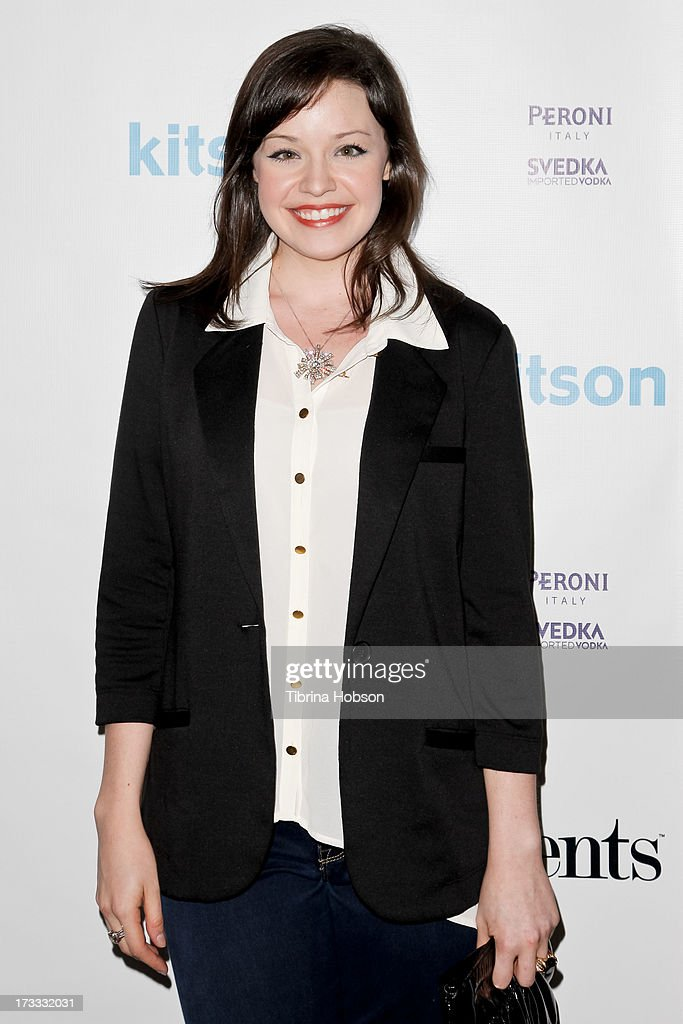 Shelley Regner attends the Gents at Kitson launch event at Kitson on Roberston on July 11, 2013 in Beverly Hills, California.
