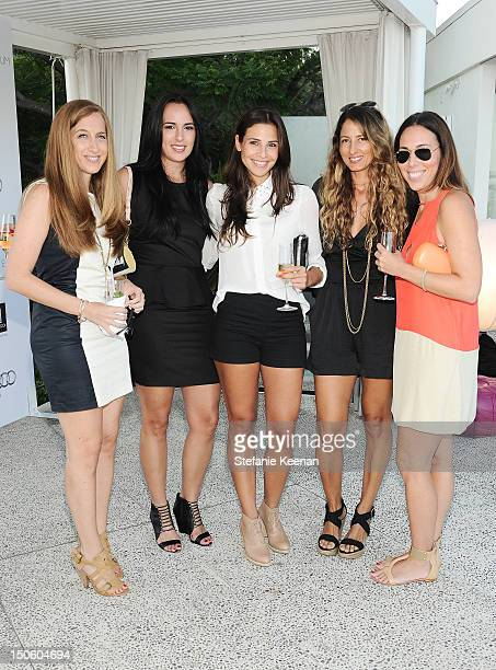 Shelley Reinstein Beta Kasanova Ana Ayora Denise Lopez and Alison Beck attend The Kingdom Of Morocco Celebrates Summer With The Art Of Elysium on...