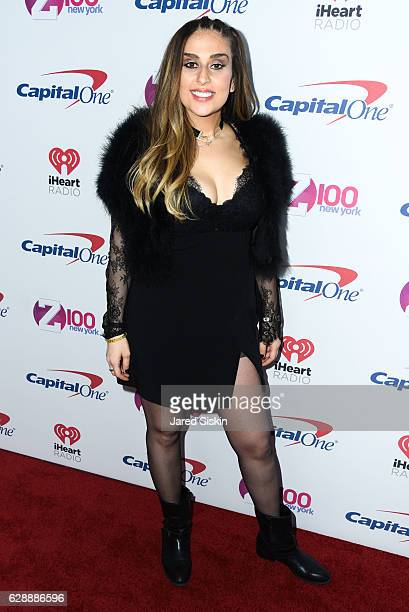 Shelley Rome attends Z100's iHeartRadio Jingle Ball 2016 Arrivals at Madison Square Garden on December 9 2016 in New York City