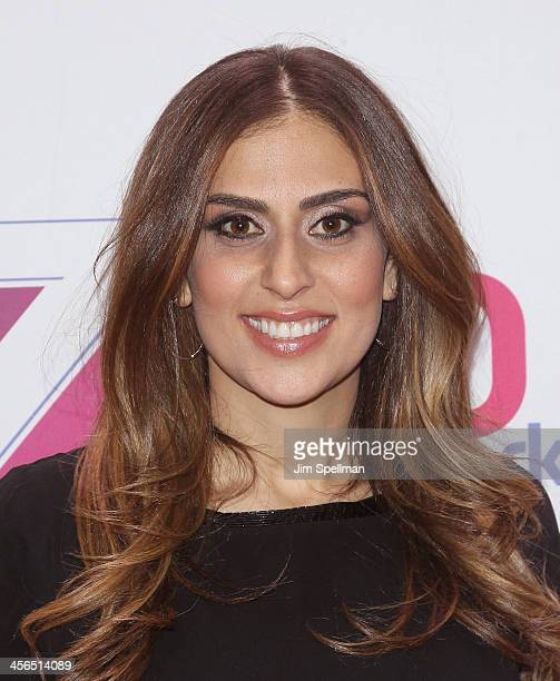Shelley Rome attends Z100's Jingle Ball 2013 at Madison Square Garden on December 13 2013 in New York City