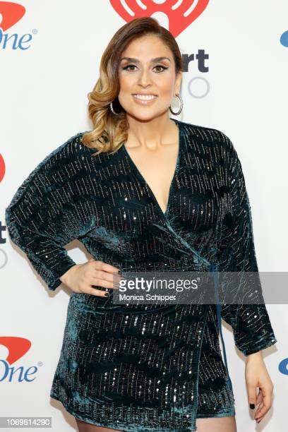 Shelley Rome attends Z100's Jingle Ball 2018 at Madison Square Garden on December 7 2018 in New York City