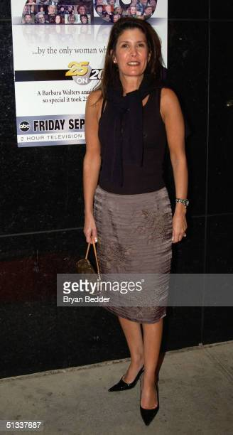 "Shelley Ross arrives to the celebration in honor of Barbara Walters and 25 years of ""20/20"" September 22, 2004 in New York City."