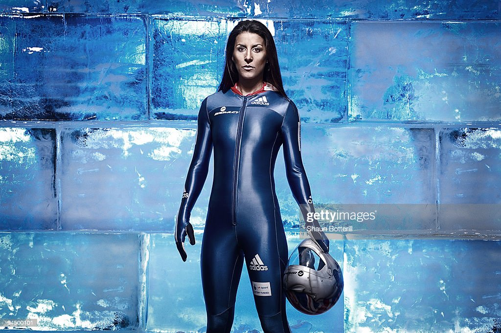 Shelley Rudman - Olympic Skeleton Medallist - Photo Session
