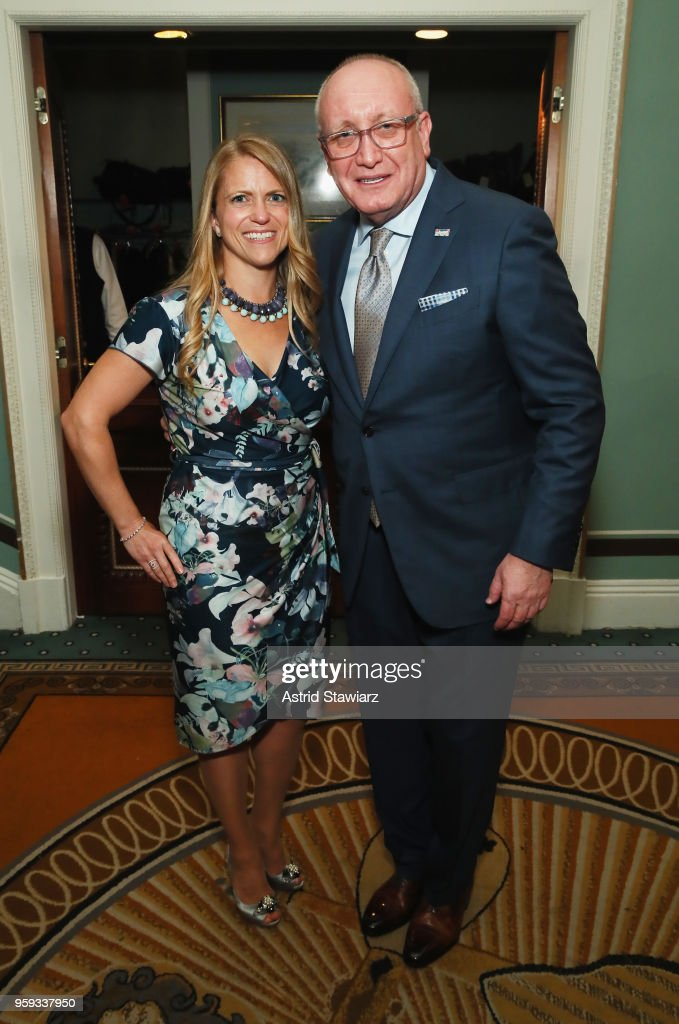 Shelley Steinwurtzel (L) and Bruce Mosler attend the National Eating Disorders Association Annual Gala 2018 at The Pierre Hotel on May 16, 2018 in New York City.