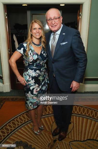 Shelley Steinwurtzel and Bruce Mosler attend the National Eating Disorders Association Annual Gala 2018 at The Pierre Hotel on May 16 2018 in New...