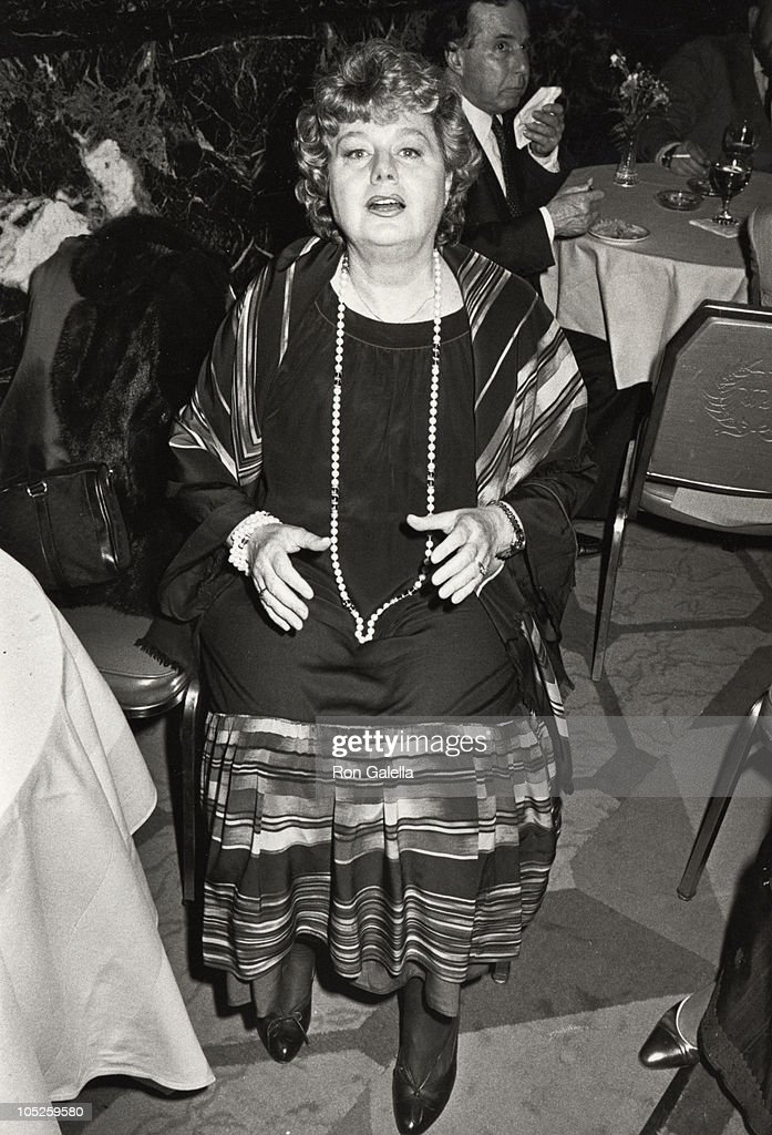 Shelley Winters during Opening Celebration of the 3rd Annual Israeli Film Festival at Waldorf Astoria Hotel in New York, NY, United States.