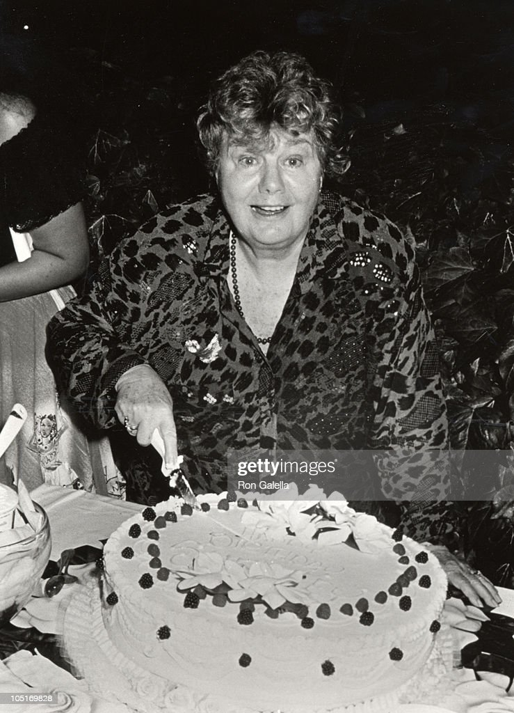 Shelley Winters during Shelley Winters's 70th Birthday Celebration at Shelley Winters's Home in Beverly Hills, CA, United States.