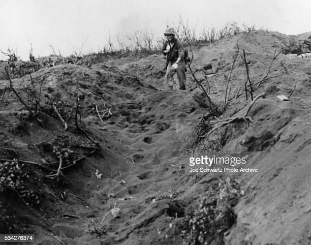 ShellShocked Marine on Iwo Jima