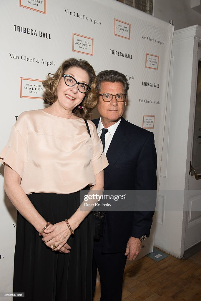 Shelly Fremont and Vincent Fremont attend the 2015 Tribeca Ball at New York Academy of Art on April 13, 2015 in New York City.