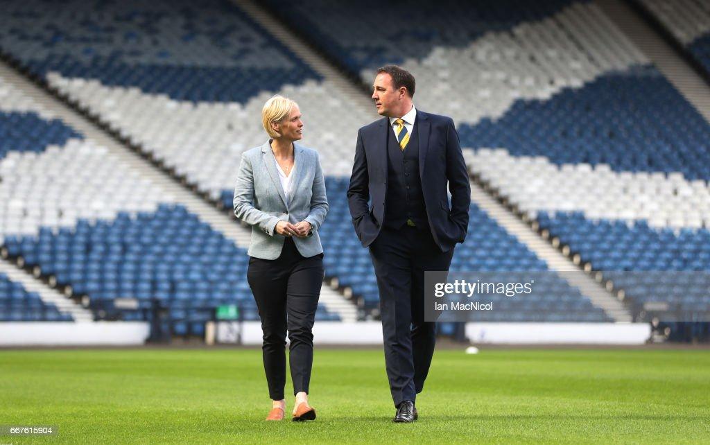 Shelly Kerr unveiled as Scotland Women's National Team Head Coach