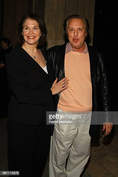 Shelly Lansing and William Friedkin attend Preview of Sculptor Robert Graham's Collective Work Featuring His Acclaimed Female Form Pieces at Ace...