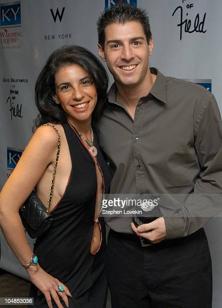 Shelly Nash and Rob Cesternino from 'Survivor' during The KY Brand Personal Lubricants Launch hosted by Patricia Field at W Hotel in New York City...