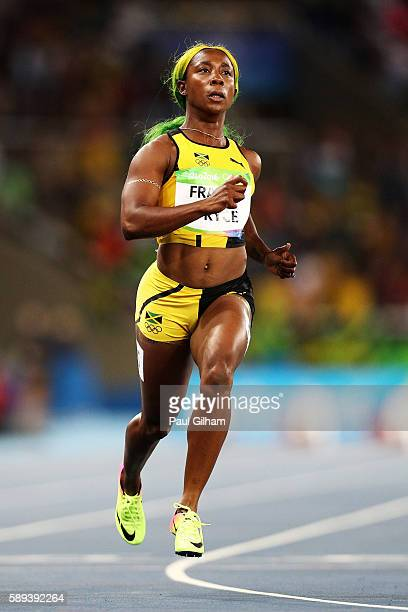 Shelly rio stock photos and pictures getty images shellyann fraserpryce of jamaica competes in the womens 100m semi final on day 8 of the altavistaventures Image collections