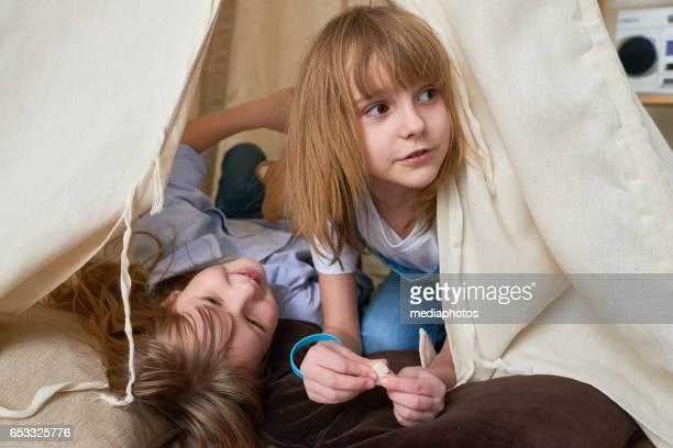 Shelter for kids game