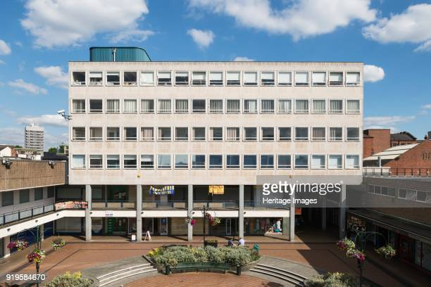 Shelton Square, Coventry, West Midlands, 2014. General view from the west.