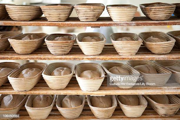 Shelve with bread