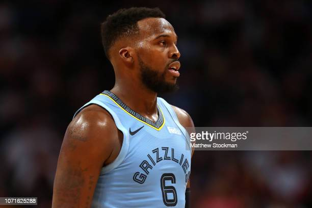 Shelvin Mack of the Memphis Grizzlies plays the Denver Nuggets at the Pepsi Center on December 10 2018 in Denver Colorado NOTE TO USER User expressly...