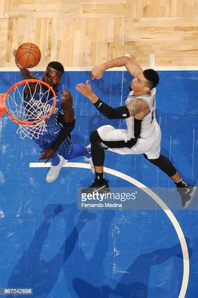 Shelvin Mack of the Orlando Magic shoots the ball against the San Antonio Spurs on October 27 2017 at Amway Center in Orlando Florida NOTE TO USER...