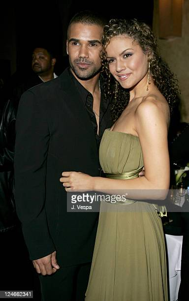 Shemar Moore and Lisa Marcos