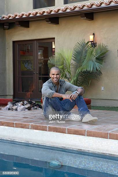 Shemar Moore at Home photographed in February 2008