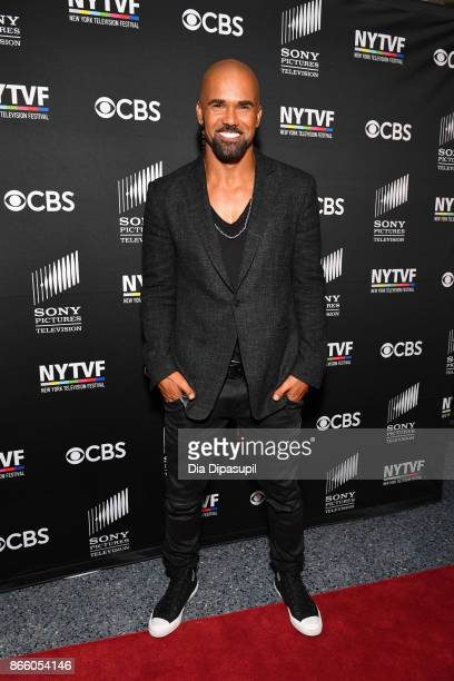Shemar Moore attends the New York Television Festival primetime world premiere of SWAT at SVA Theatre on October 24 2017 in New York City