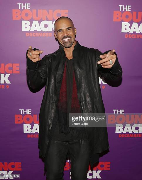 Shemar Moore attends the Premiere Of Viva Pictures' 'The Bounce Back' at TCL Chinese Theatre on December 6 2016 in Hollywood California