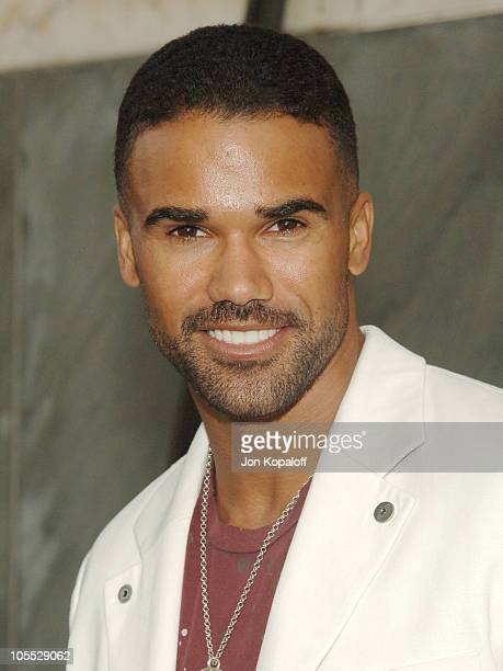 Shemar Moore during CBS Summer 2005 Press Tour Party at Hammer Museum in Westwood California United States