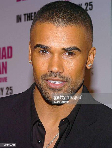 Shemar Moore during Tyler Perry's 'Diary of a Mad Black Woman' Los Angeles Premiere Arrivals at Arclight Cinerama Dome in Hollywood California United...