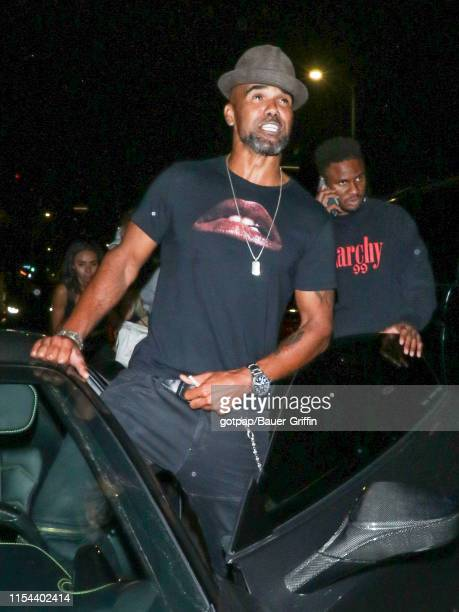 Shemar Moore is seen on July 07 2019 in Los Angeles California