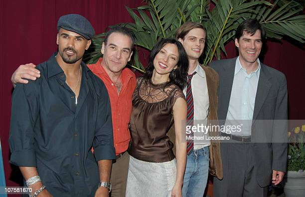 Shemar Moore Lola Glaudini Mandy Patinkin Matthew Gubler and Thomas Gibson