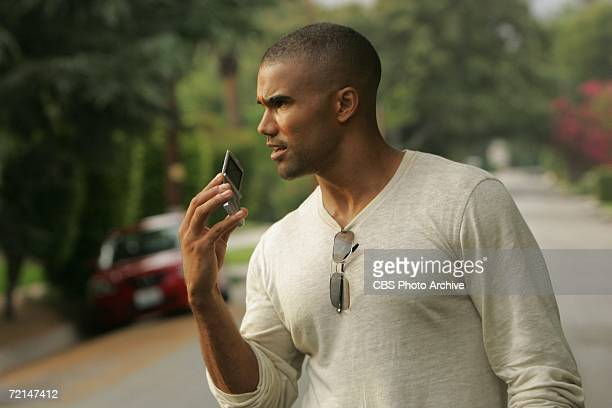 P911 Shemar Moore stars as Special Agent Derek Morgan on CRIMINAL MINDS scheduled to air on the CBS Television Network