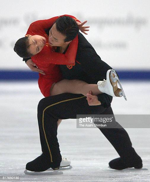 Shen Xue and Zhao Hongbo of China compete in the Pair Free Program during day five of the ISU World Figure Skating Championships at M Wave on March...