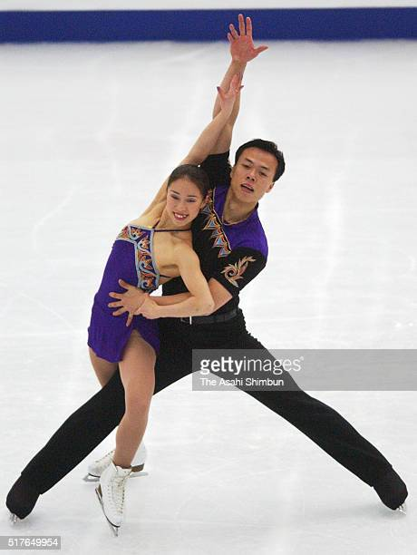 Shen Xue and Zhao Hongbo of China compete in the Pair Short Program during day three of the ISU World Figure Skating Championships at M Wave on March...