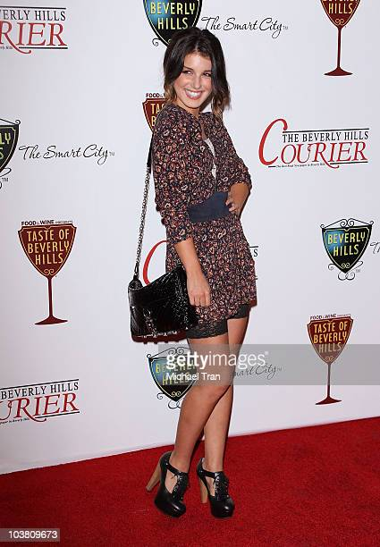 Shenae Grimes arrives at the Taste Of Beverly Hills held at The Beverly Hilton hotel on September 2 2010 in Beverly Hills California